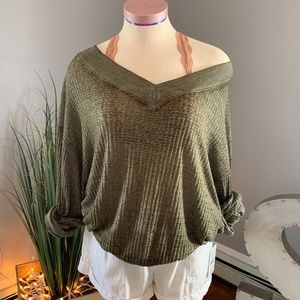 Free People - We The Free Off the Shoulder Top